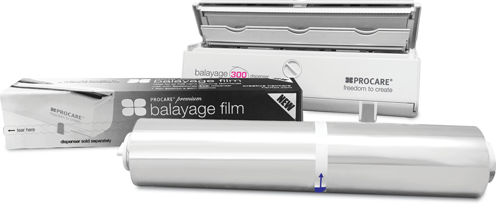 Balayage Film for Hair
