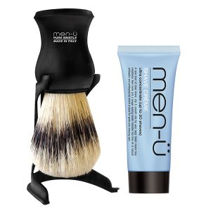 Barbiere-pure-bristle-shaving-brush---BLACK