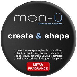 men-u create and shape