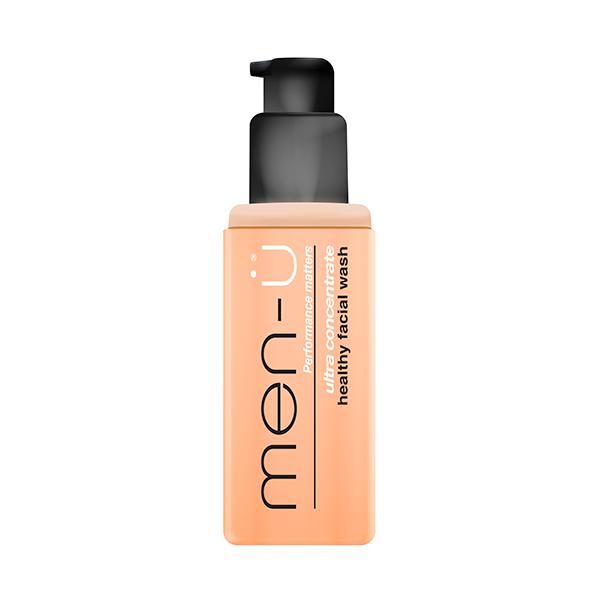 men-u healthy facial wash