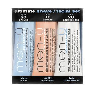 men-u ultimate shave facial set